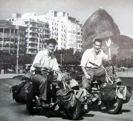 Staaten re jean claude 1954 in rio de janeiro foto out of their book fandeluxe Images