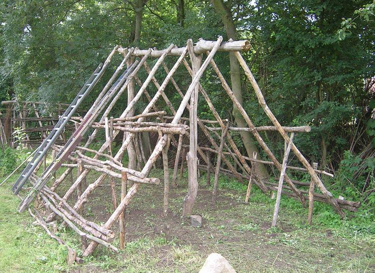Beliebt Bushcraft Camp bauen - Shelter und Schlafen - Bushcraft-Germany LK33